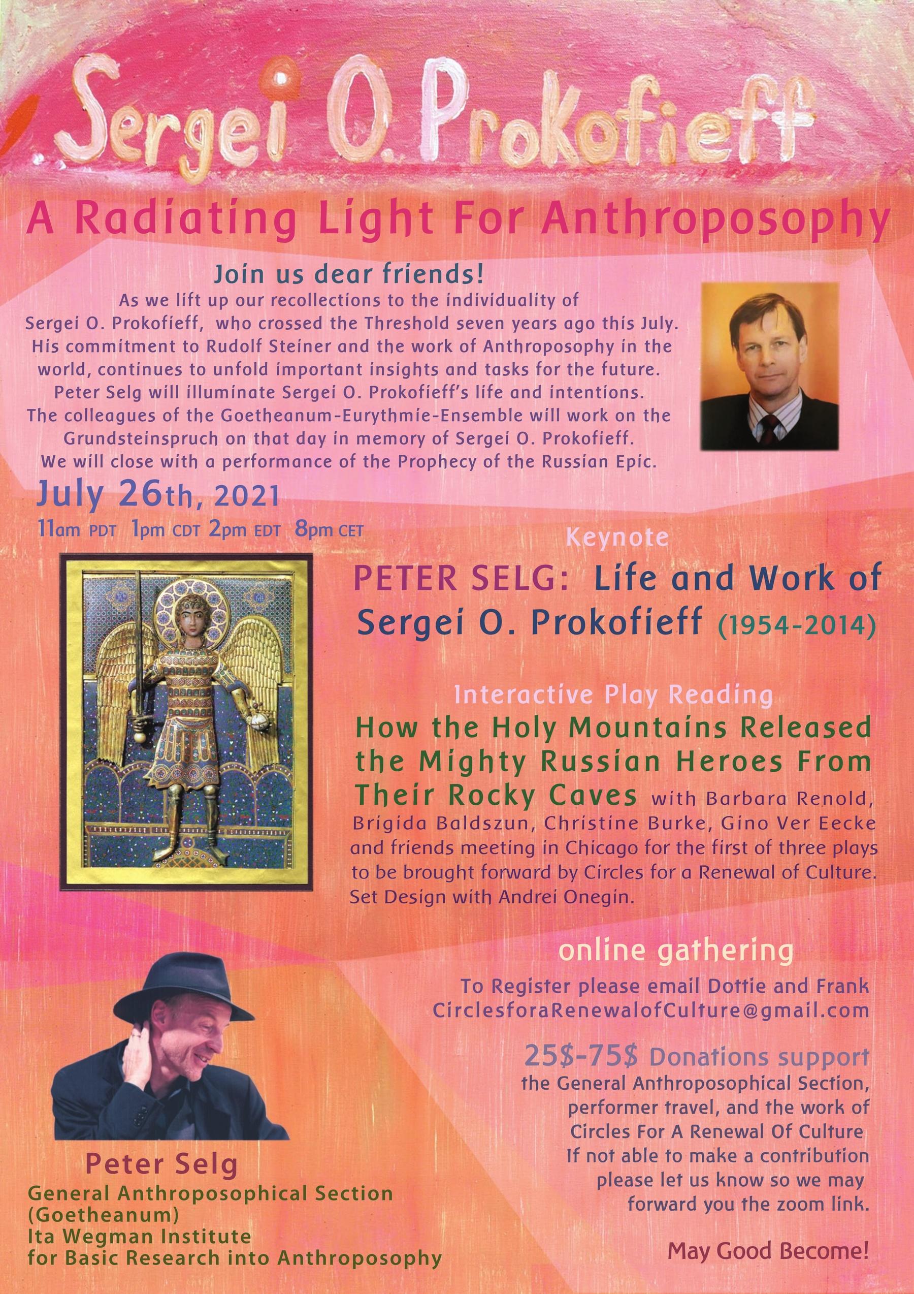Prokofieff Radiating event