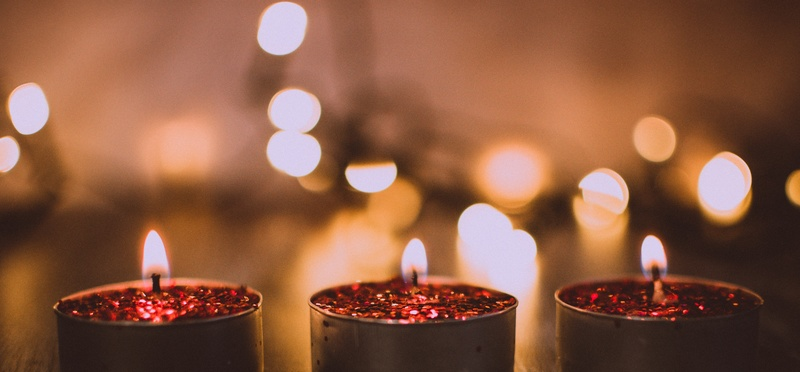 holy nights candles